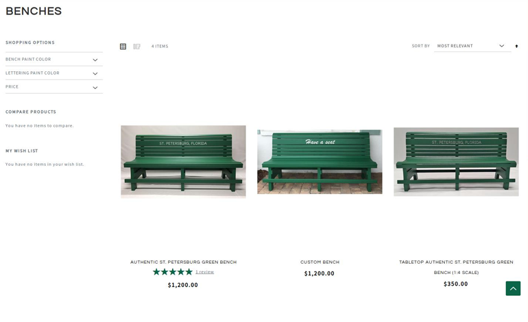 Bench City Portfolio Screenshort 01